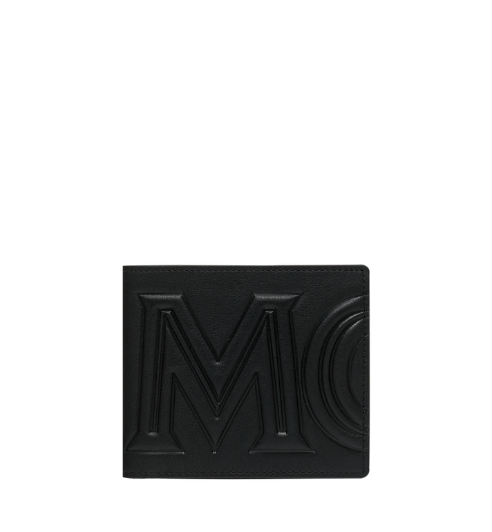 MCM MCM 標誌兩折式皮夾 Black MXS9SCL02BK001 Alternate View 1