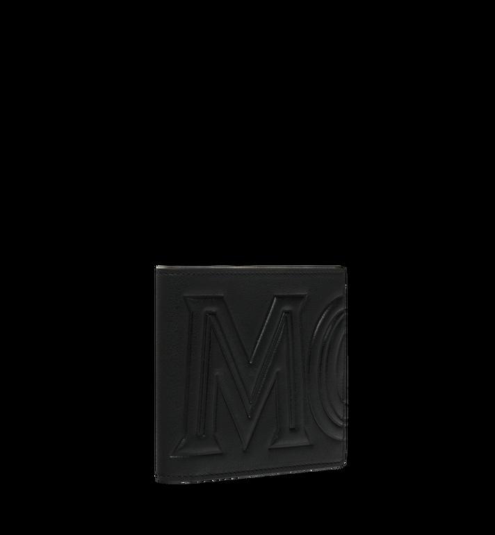 MCM กระเป๋าสตางค์พับสองทบลาย MCM Injection Logo Black MXS9SCL02BK001 Alternate View 2