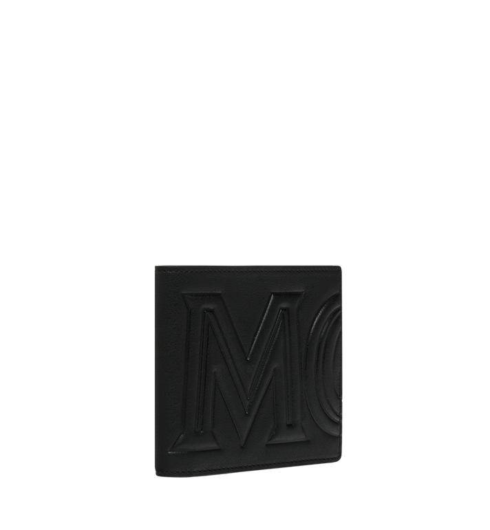 MCM Bifold Wallet in MCM Injection Logo Black MXS9SCL02BK001 Alternate View 2