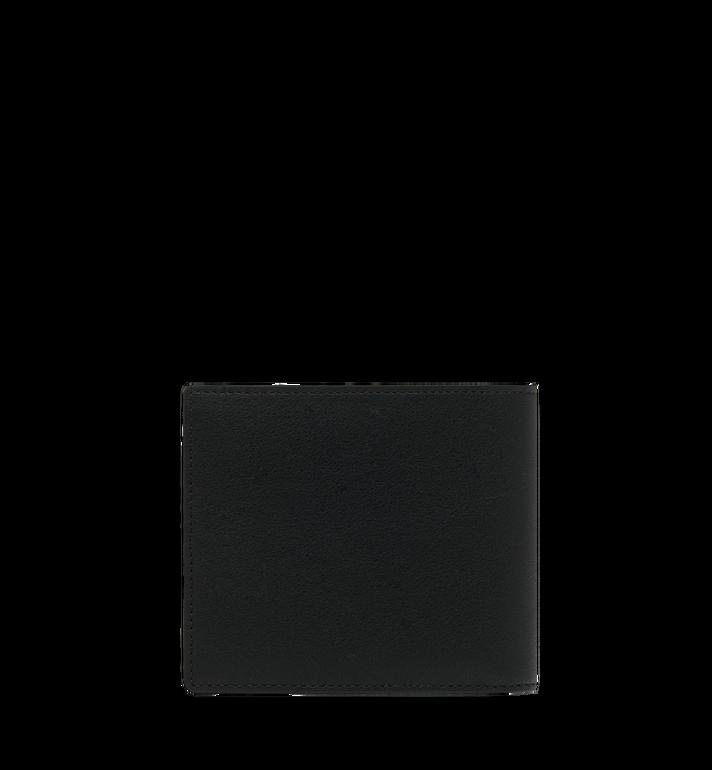 MCM กระเป๋าสตางค์พับสองทบลาย MCM Injection Logo Black MXS9SCL02BK001 Alternate View 3