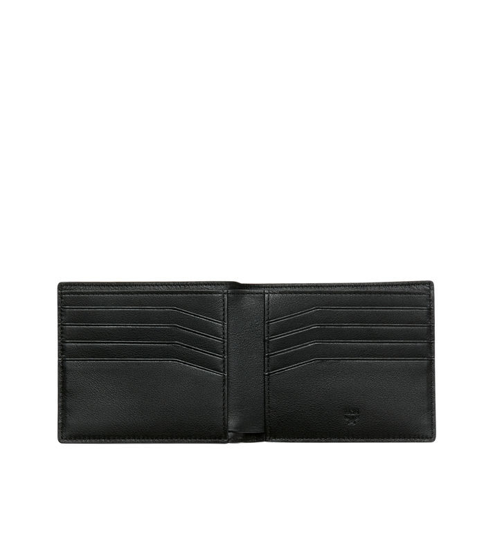 MCM Bifold Wallet in MCM Injection Logo Black MXS9SCL02BK001 Alternate View 4
