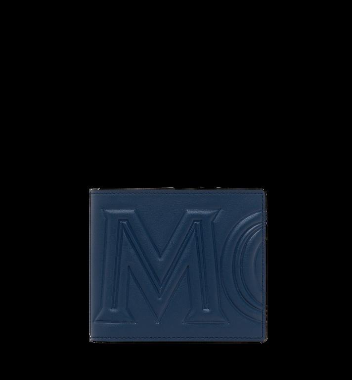 MCM MCM 標誌兩折式皮夾 Alternate View