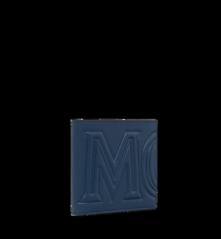 MCM MCM 標誌兩折式皮夾 Navy MXS9SCL02VA001 Alternate View 2