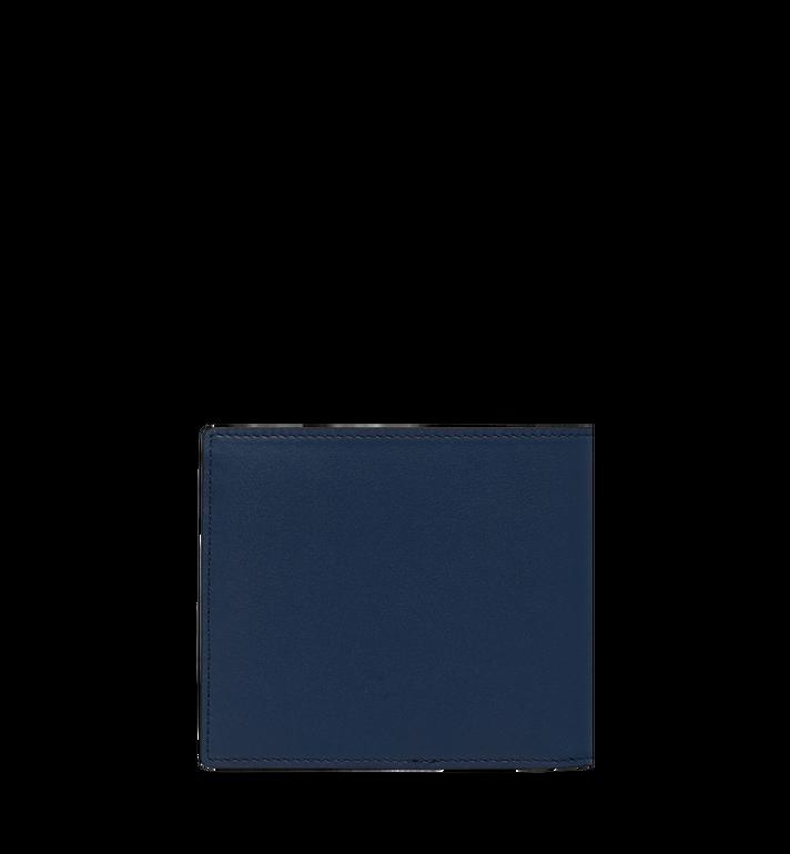 MCM MCM 標誌兩折式皮夾 Navy MXS9SCL02VA001 Alternate View 4