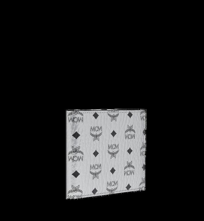 MCM Portefeuille à deux volets en Visetos Original Silver MXS9SVI63SB001 Alternate View 2