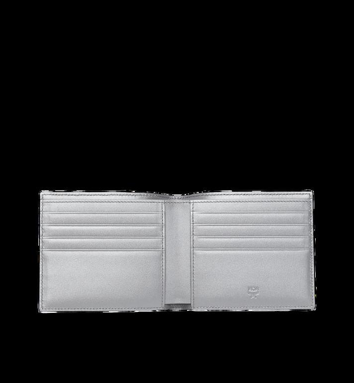 MCM Portefeuille à deux volets en Visetos Original Silver MXS9SVI63SB001 Alternate View 4