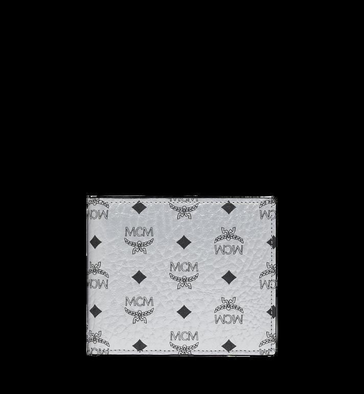MCM Bifold Coin Wallet in Visetos Original Alternate View