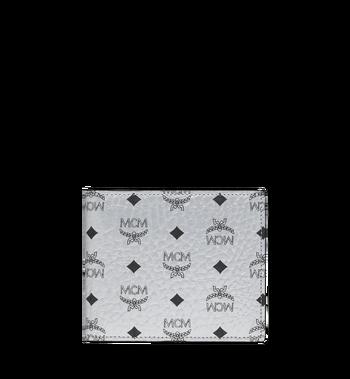 MCM Porte-monnaie à deux volets en Visetos Original Alternate View