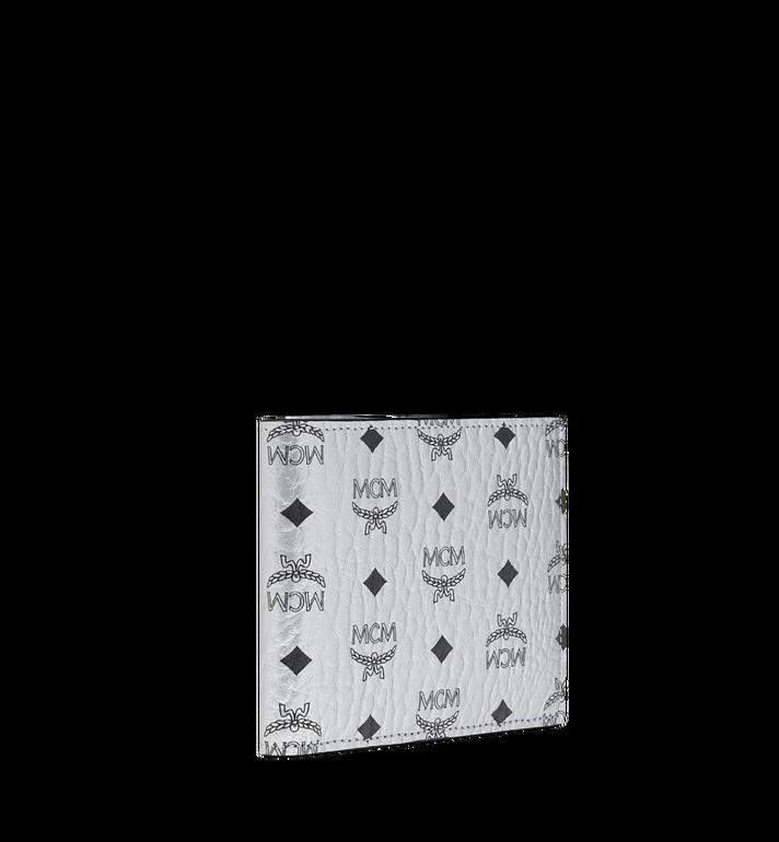 MCM Bifold Coin Wallet in Visetos Original Silver MXS9SVI66SB001 Alternate View 2