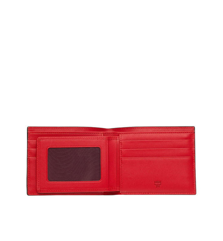 MCM Bifold with Card Case in Webbing Visetos Cognac MXS9SVI93CO001 Alternate View 4
