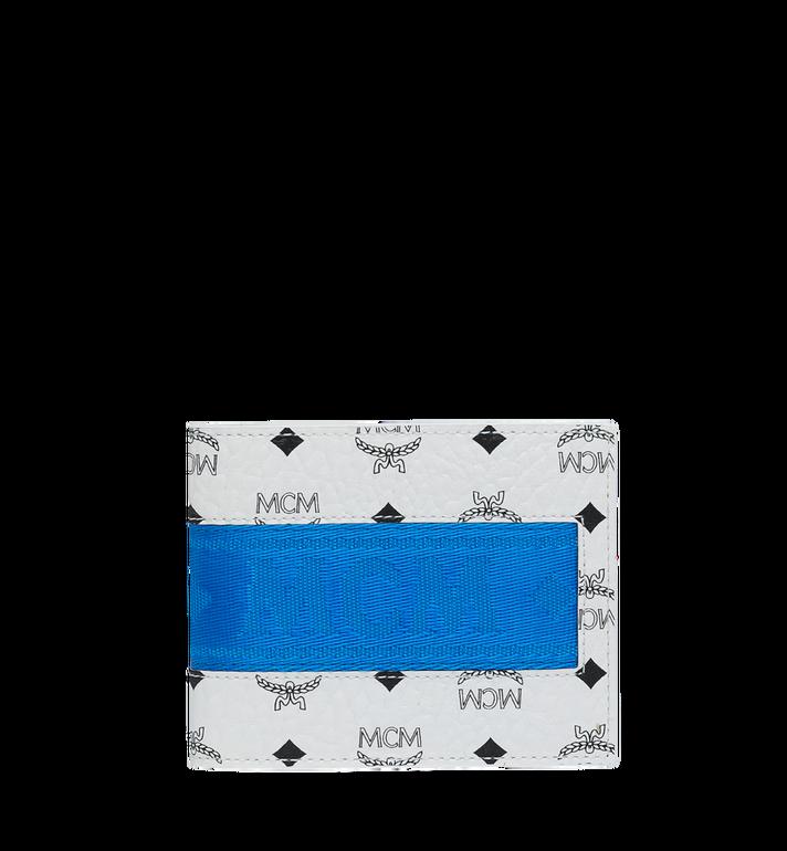 MCM Gefaltete Brieftasche mit Kartenfach in Webbing Visetos Alternate View