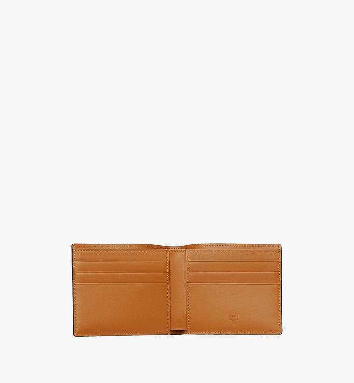 MCM Bifold Wallet in Visetos Original Cognac MXSAAVI04CO001 Alternate View 4