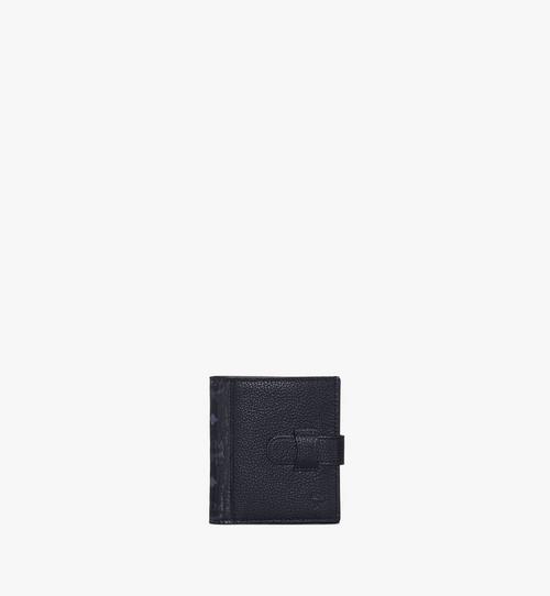 Bifold Card Wallet in Visetos Leather Mix