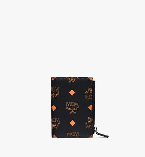 กระเป๋าสตางค์ใส่บัตรแบบพับสองทบลาย Color Splash Visetos