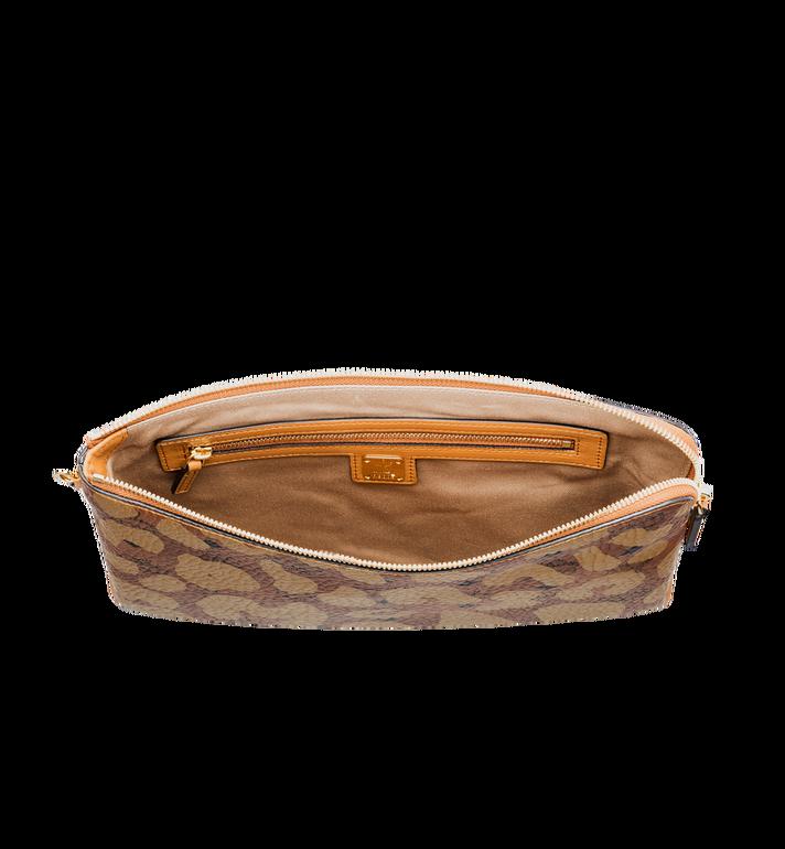 MCM Tasche mit Handgelenksband und Reissverschluss in MCM Leopard Print  MXZ8AVE26CO001 Alternate View 4