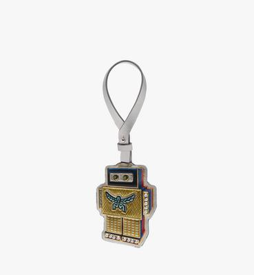 Roboter Charm in Leather