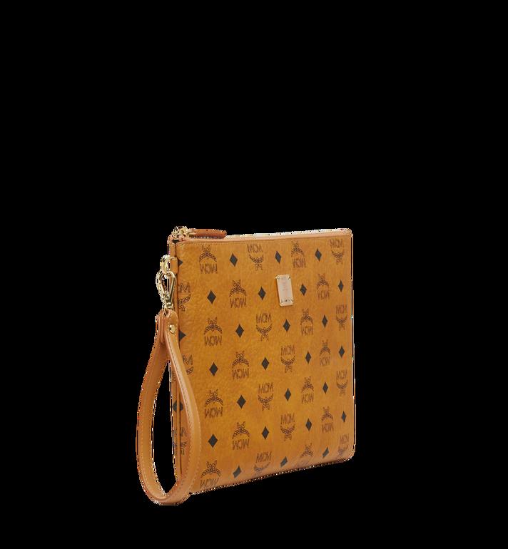 MCM Stark Tasche mit Handgelenksband in Visetos Alternate View 2