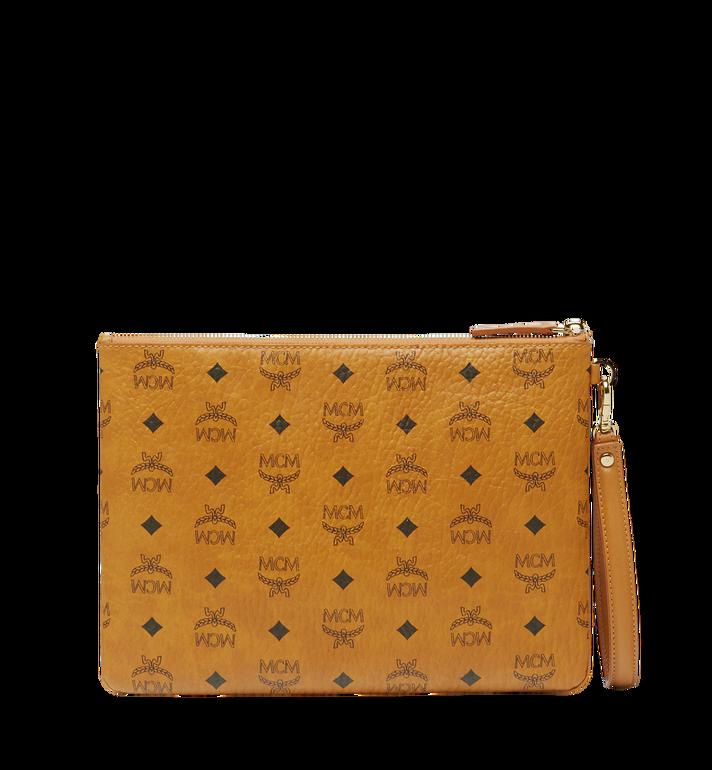 MCM Stark Tasche mit Handgelenksband in Visetos Alternate View 3