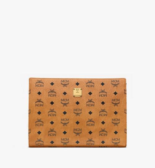 กระเป๋าเพาช์มีซิป ลาย Visetos Original