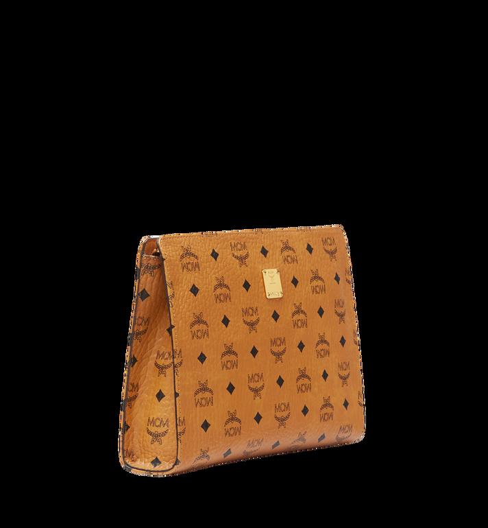 MCM Tasche mit Reissverschluss in Visetos Original Cognac MXZ8SVI70CO001 Alternate View 2