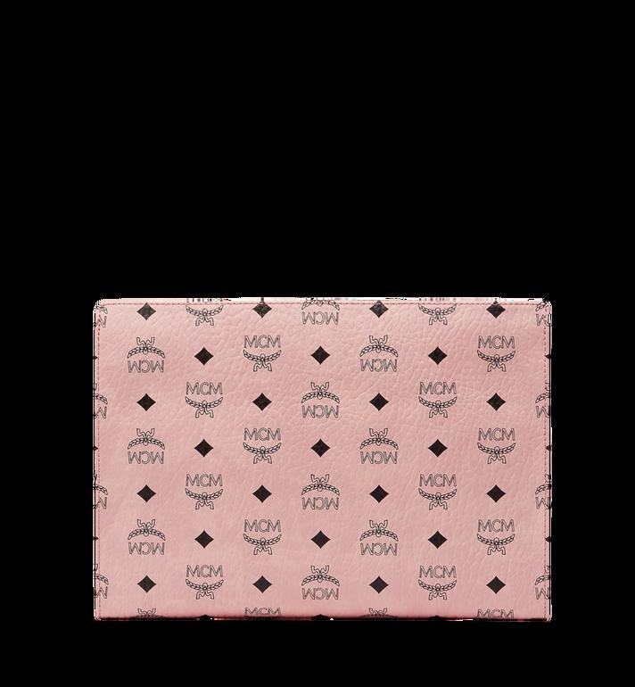 MCM Pochette en Visetos Original Pink MXZ8SVI70PZ001 Alternate View 3