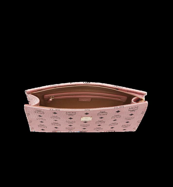 MCM Tasche mit Reissverschluss in Visetos Original Pink MXZ8SVI70PZ001 Alternate View 4