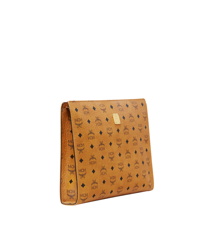 MCM Tasche mit Reissverschluss in Visetos Original Cognac MXZ8SVI71CO001 Alternate View 2