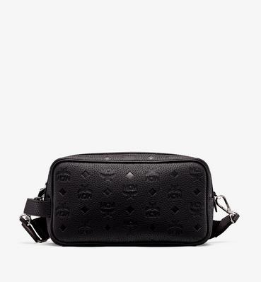 Tivitat Wash Bag in Monogram Leather