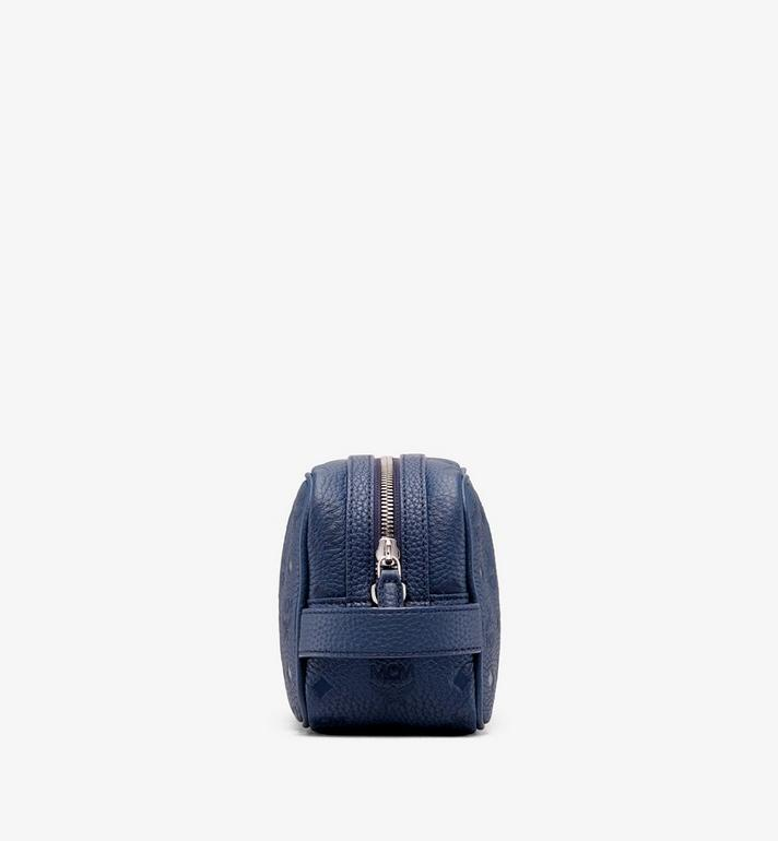 MCM Tivitat 皮革化妝包 Navy MXZ9ABT28VA001 Alternate View 2