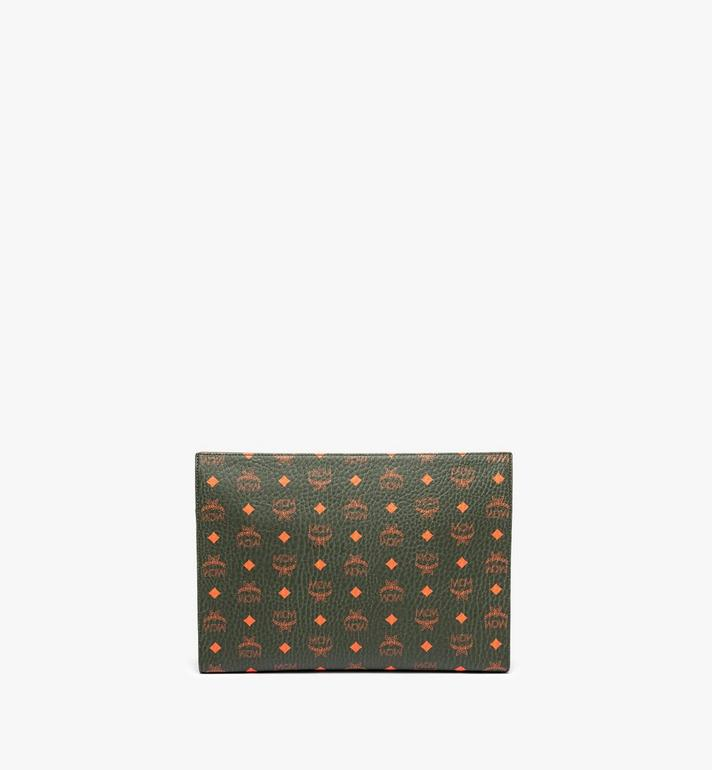 MCM Zip Pouch in Visetos  MXZ9AVI39G8001 Alternate View 4