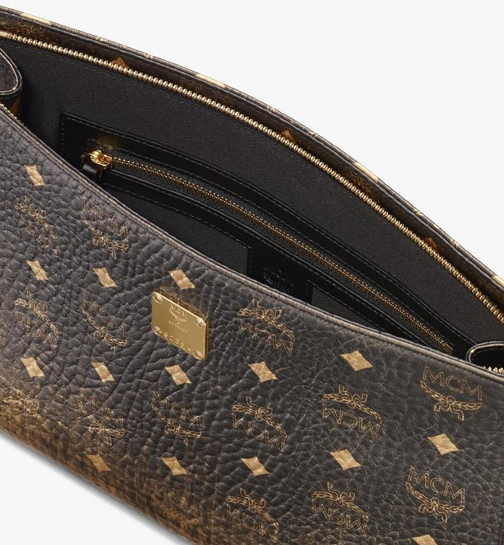MCM Zip Pouch in Gradation Visetos Alternate View 3