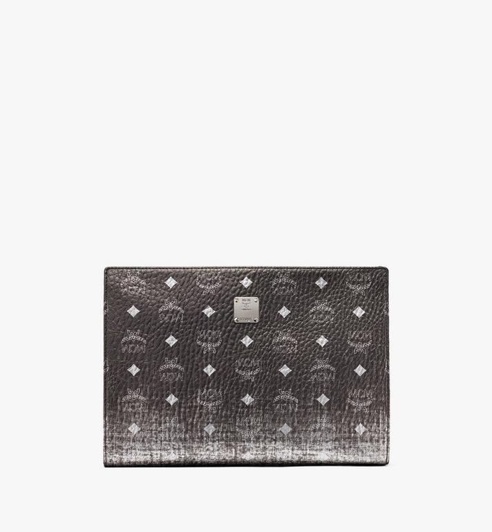 MCM Zip Pouch in Gradation Visetos Alternate View