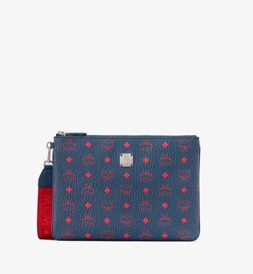 กระเป๋าติดซิปแบบคล้องข้อมือลาย Visetos
