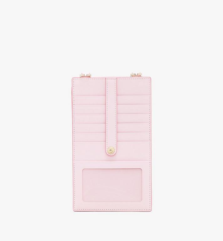 MCM Crossbody-Smartphonehülle in Visetos Pink MXZ9AVI54QH001 Alternate View 2