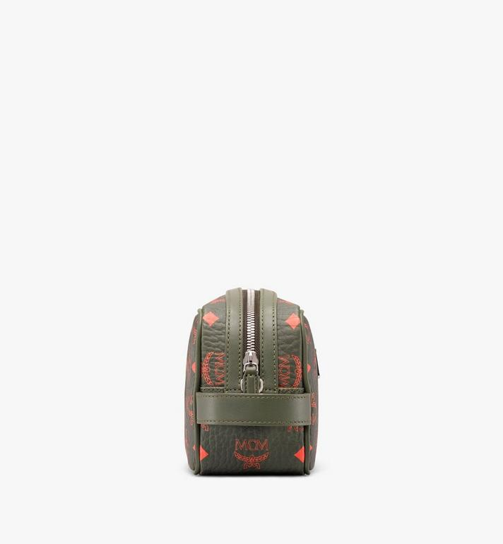 MCM Wash Bag in Visetos  MXZ9AVI55G8001 Alternate View 2