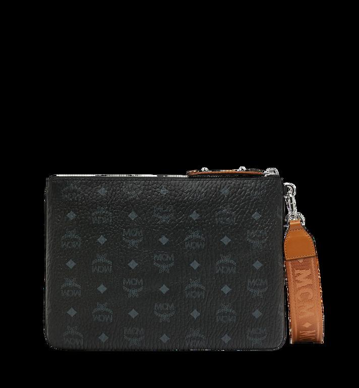 MCM Reissverschlusstasche mit Handgelenksband in Visetos Original Alternate View 3
