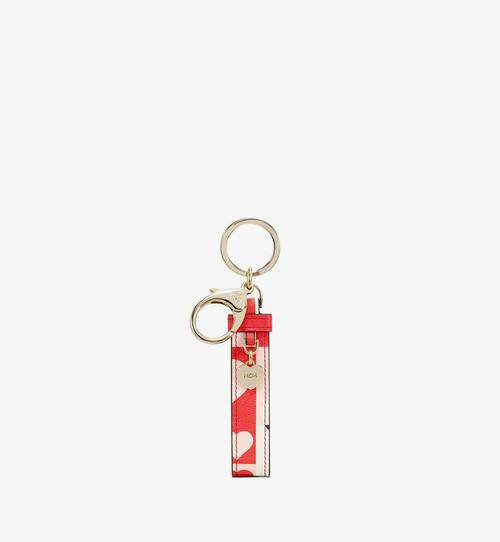 Key Ring in Cubic Valentine Leather