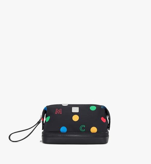 Wash Bag in Polka Dot Nylon