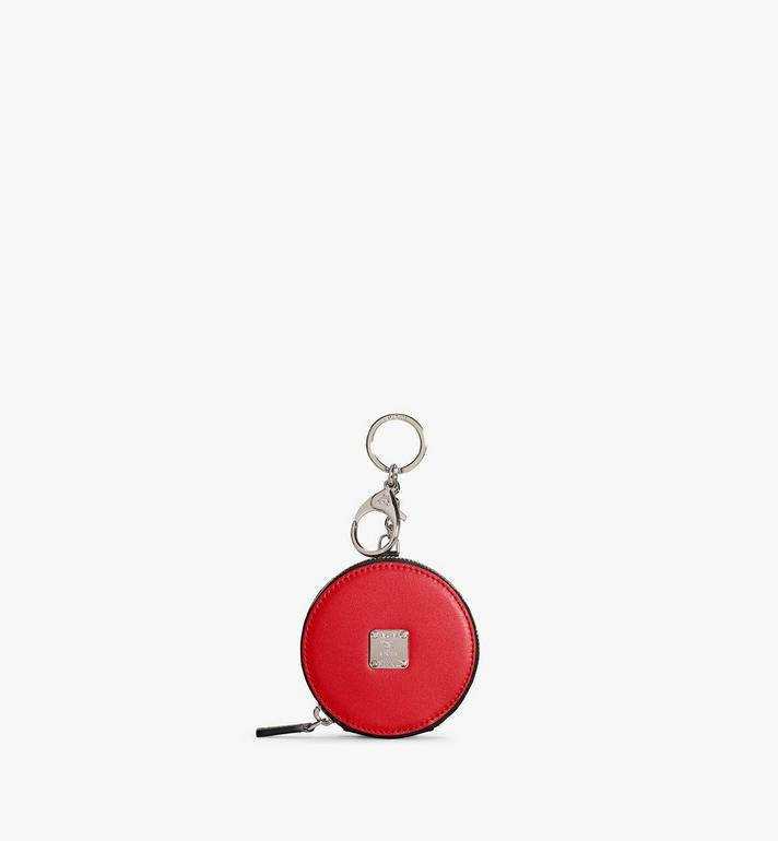 MCM Coin Pouch Charm in Polka Dot Leather Red MXZAAPD02RE001 Alternate View 1