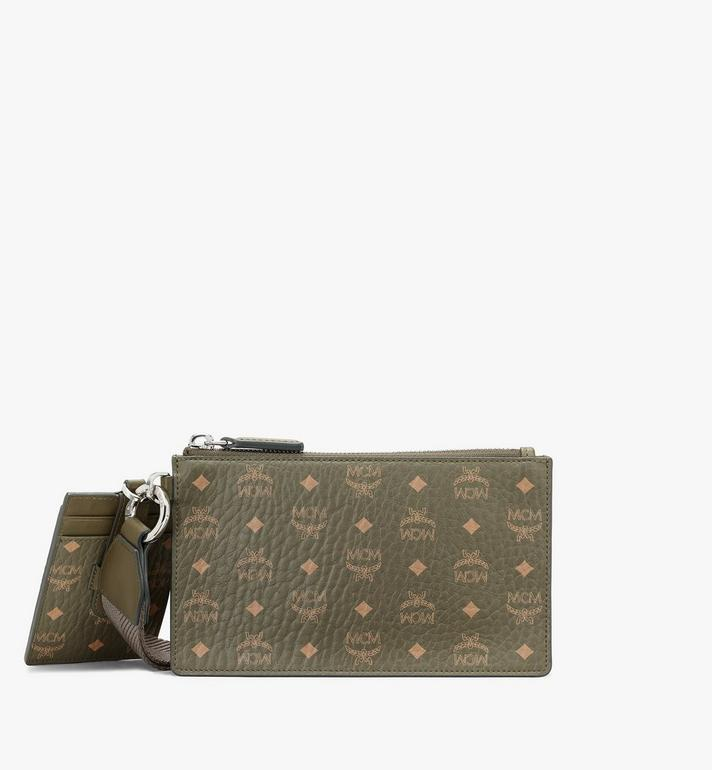 MCM Multifunction Pouch in Visetos Original Alternate View