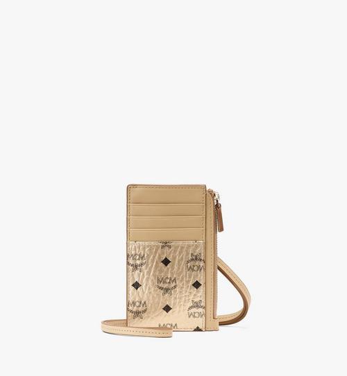 กระเป๋าใส่บัตรลาย Visetos Original พร้อมสายคล้องคอ