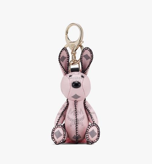 Visetos 系列的 MCM Zoo Rabbit 幸運吊飾