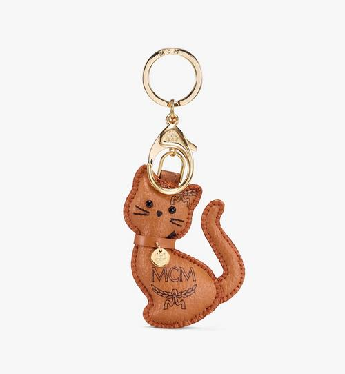 MCM Zoo 2D Cat Charm in Visetos