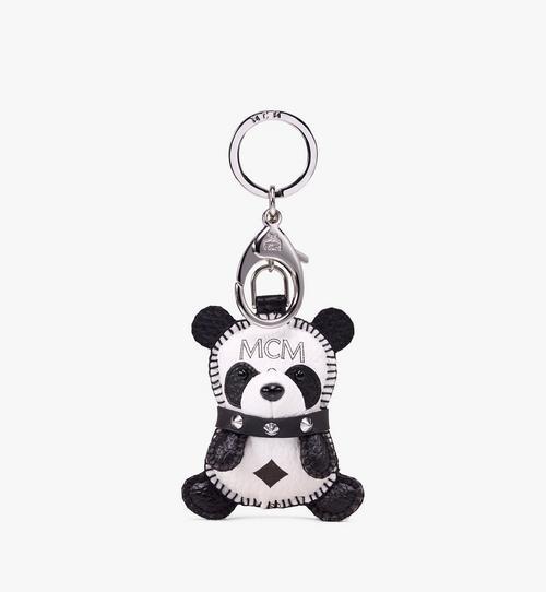 Visetos 皮革 MCM Zoo 2D 熊貓吊飾