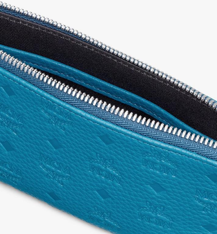 MCM 縮寫字母圖案皮革 Tivitat 電子產品收納包 Blue MXZASBT03JF001 Alternate View 3