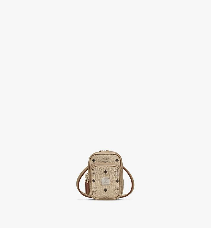 MCM Crossbody Charm in Visetos Alternate View