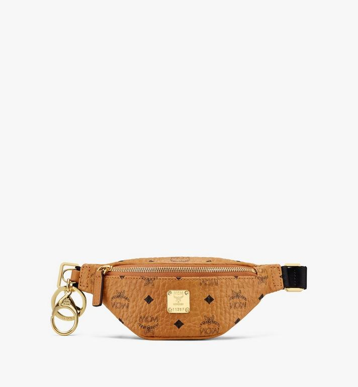 MCM Belt Bag Charm in Visetos Alternate View