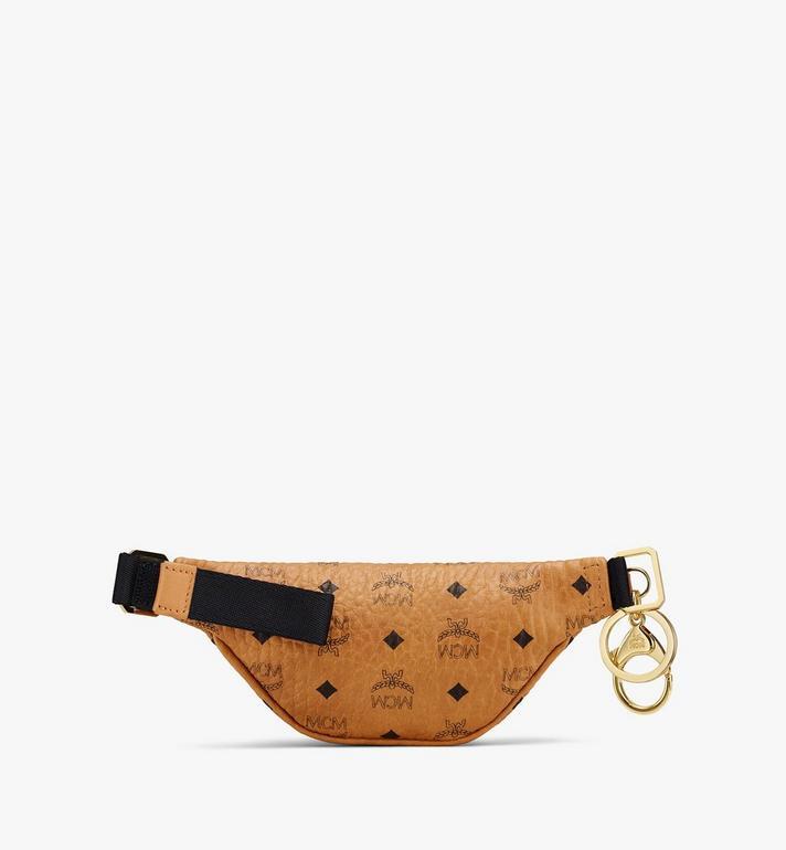 MCM Belt Bag Charm in Visetos Cognac MXZASVI15CO001 Alternate View 2