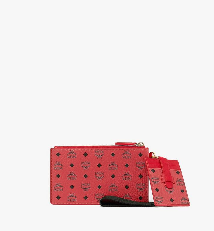 MCM Year Of The Mouse Multifunction Pouch Red MXZASXL03RJ001 Alternate View 2