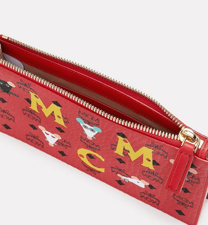 MCM Year Of The Mouse Multifunction Pouch Red MXZASXL03RJ001 Alternate View 3